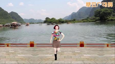 建芳广场舞《青藏女孩》单人水兵舞
