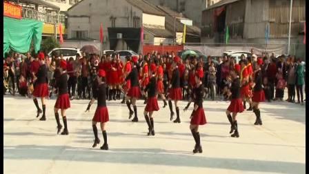 水兵舞《红梅赞》健身舞表演赛