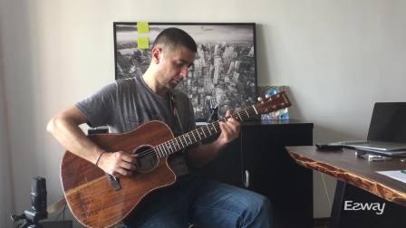 即兴布鲁斯吉他弹奏 / EZWAY D17相思木