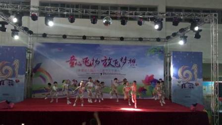 福鼎市前岐金童幼兒園大三班幼兒舞蹈good  time