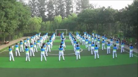 北京市朝阳区常营公园健身队上报视频-小苹果