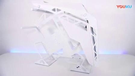 我在价值6000美金的骨伽征服者白色水冷电脑方案!截了一段小视频