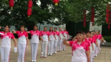 雪之舞重庆大足龙水福源健身操分队翻拍雪十一第二节