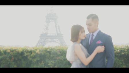 九木紀婚禮電影《爱在浪漫之都》旅拍