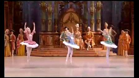 我在芭蕾舞剧睡美人第三幕—婚礼截取了一段小视频