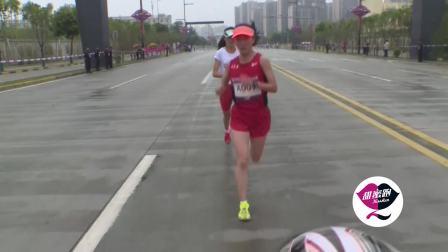 2018西安女子半程马拉松全场录像