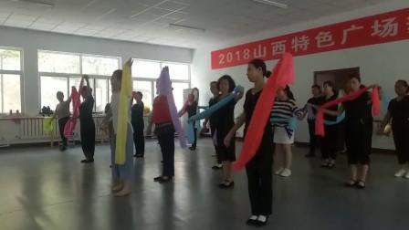 尧都区群艺馆积极举办山西特色广场舞培训