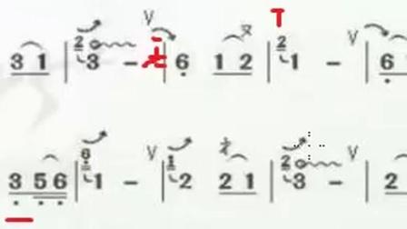初级第10课A 傣乡情哥葫芦丝 映山红 讲解