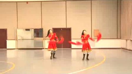 张地爱舞姐妹广场舞(杜尔伯特蒙古族自治县文化馆安代舞)