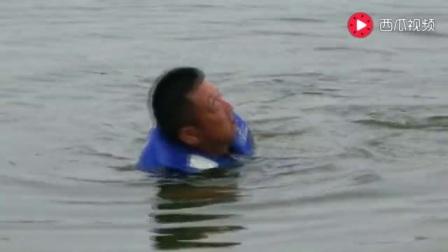 150斤重大鱼把男子拖入水库,结局令人出呼意料