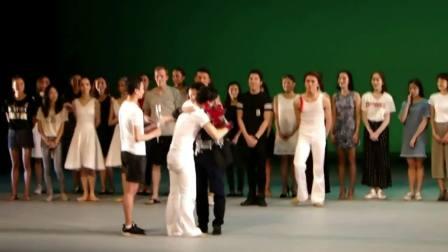 梁靖,舞台上依依告别,香港芭蕾舞团 21 载情