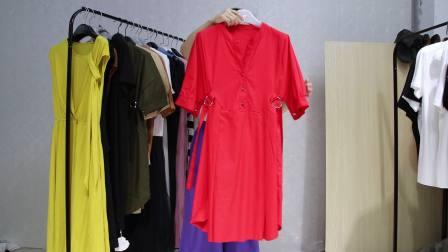 精品女装批发服装批发时尚服饰夏装女士精品套装大版衫连衣裙混批走份30件一份,不挑款