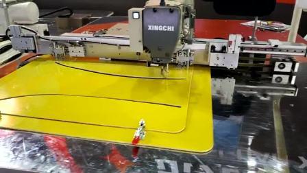 东莞星驰牌6040G大范围电脑花样机厂家 快速夹模电脑车 快速换模花样缝纫机  自动化工业缝纫机