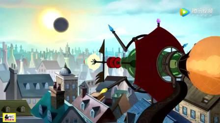 《猫和老鼠》太科幻了! 飞猫大盗利用日全食偷宝石