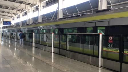 天津地铁2号线(滨海国际机场方向)213车组-空港经济区进站