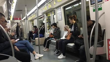 天津地铁2号线(曹庄方向)204车组-运行视频(空港经济区-翠阜新村)