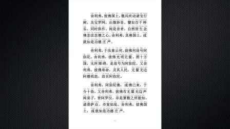 佛说阿弥陀经(江华诵读)