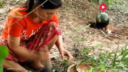越南老妹: 西瓜炖血蛤, 这种搭配科学么? 有没有人尝试过