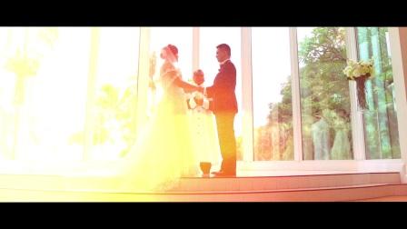 夏威夷水晶教堂婚礼【夏威夷假日婚礼公司出品】