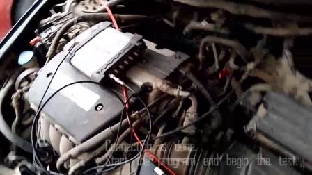 Hantek1008C汽车诊断测试之~~~~活性碳管电磁阀