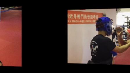 KMCN马伽术暗黑环境(蒙眼)防卫测试!