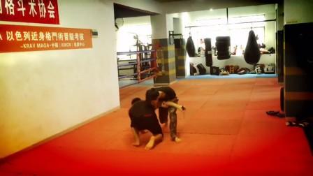 KMCN以色列格斗术(马伽术)G级刀棍器械防卫训练视频2