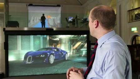 北安普顿大学CAVE系统用户采访:教育行业VR应用——TechViz合作方宣传