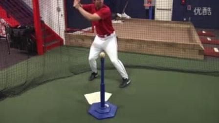 我在【棒球打击训练】如何打T座截了一段小视频