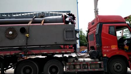 液压式清淤船正在装车发货