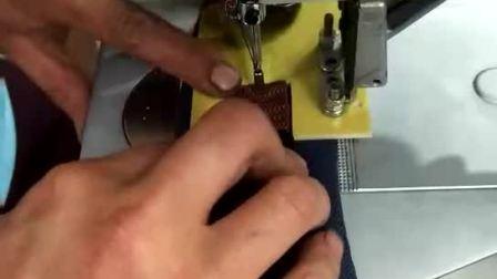 星驰牌430D厂家 9*6cm车缝范围电脑套结机  电脑打枣机 电子打结机 可以编辑任意花样 电脑花样机 厚料工业缝纫机 鞋厂自动化缝纫机