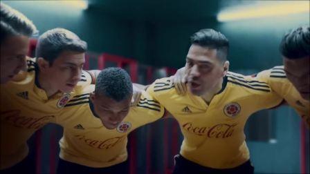 可口可乐世界杯主题广告