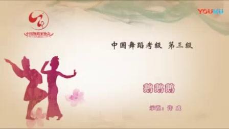 我在中国舞蹈家考级三级视频鹅鹅鹅3--3截了一段小视频