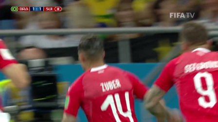 (1-1) Brazil v Switzerland - 2018 FIFA World Cup Russia™ - MATCH 9