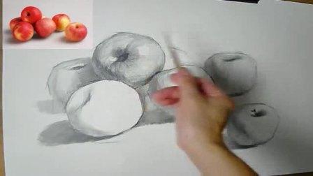 美芬素描素描入门正方形,风景速写教程写生,素描教程石膏头像学习素描的步骤