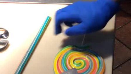 美拍视频: 纯手工制作棒棒糖#美食#