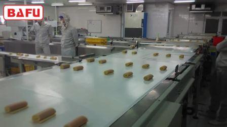 面包包装机,蛋糕包装机,糕点包装机,自动理料包装线