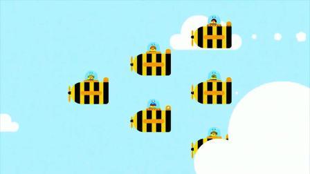 嗨道奇: 小朋友们了解蜜蜂制作蜂蜜的过程, 原来蜂蜜的形成是这么的不容易