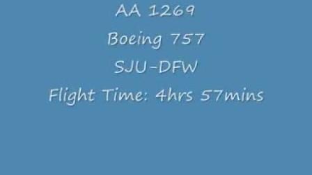 AA757起飞