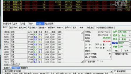 股指期货交易实例演示