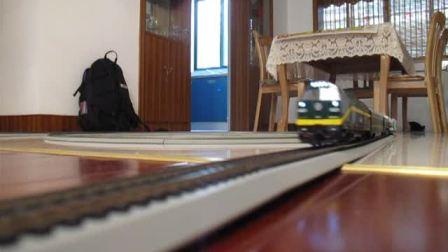 玩火车青藏车NJ2 双头拉25T车厢2节25K2车厢节