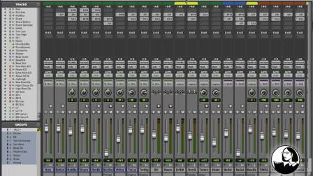 02. Working with the Pro Tools Mixer 48371_02_07_S