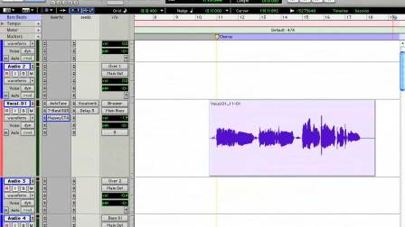01 Editing 16 Comping Vocals