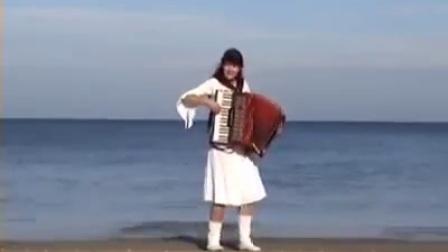 伴着海浪的手风琴演奏  博裕堂