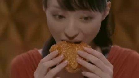栗山千明   【KFC 肯德基 炸鸡】  广告