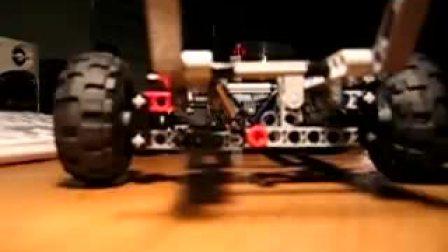 LEGO不用避震器的车体结构设计