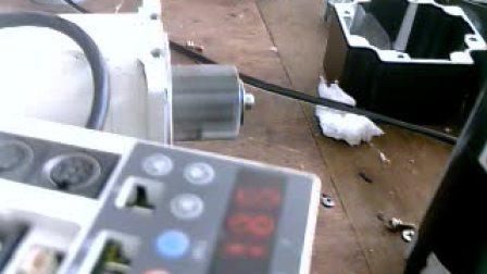 松下伺服电机维修测试