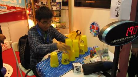 广州玩具展魔友表演