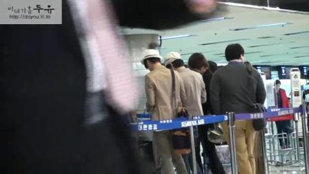100416 CNBLUE机场饭拍