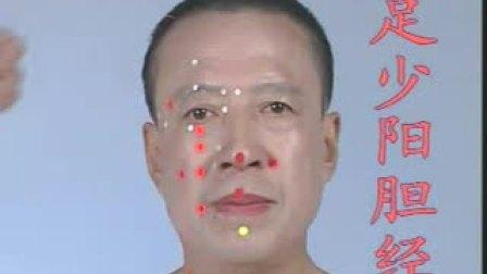 人体经络足少阳胆经图的穴位取穴真人讲解