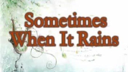 神秘园《Sometimes When It Rains》